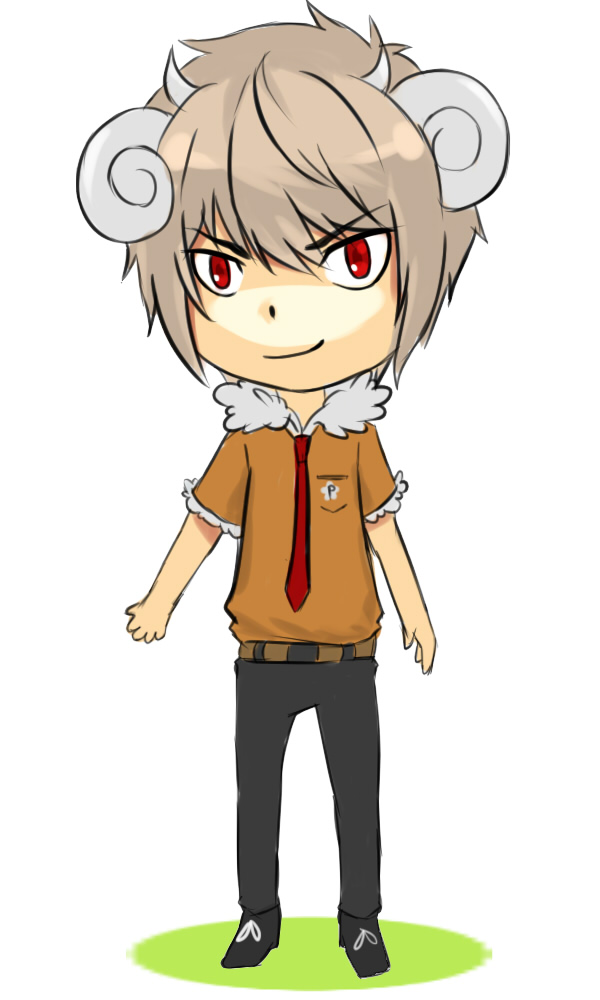 Sheepman [Open Adopt] by puzzland
