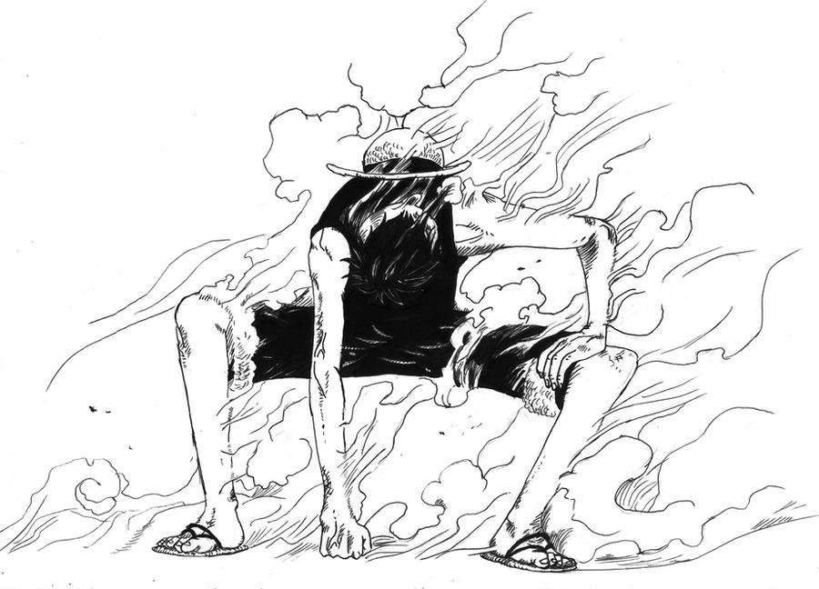Luffy Gear Second by Otsumanu