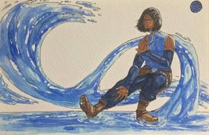 K for Korra - Water by ArtistocrArt