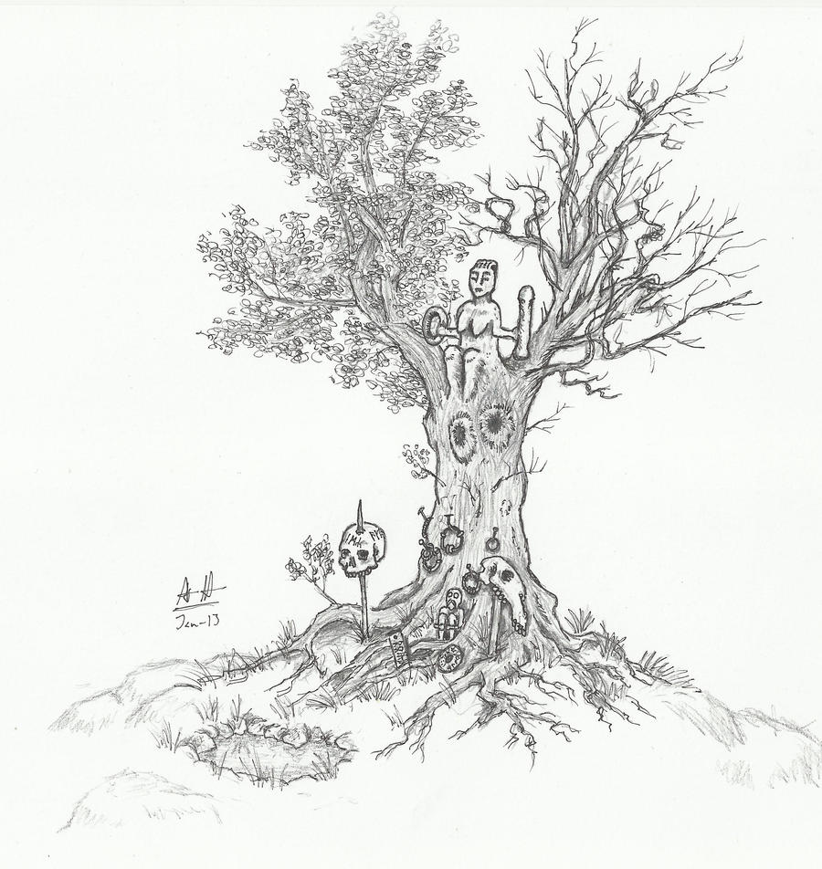 Tree of Cycles by Illvetti