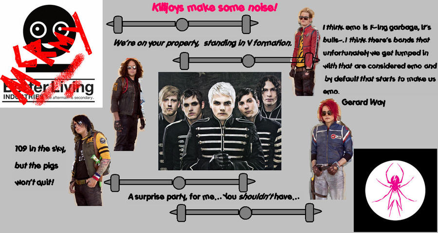 my chemical romance wallpapers. My Chemical Romance Wallpaper