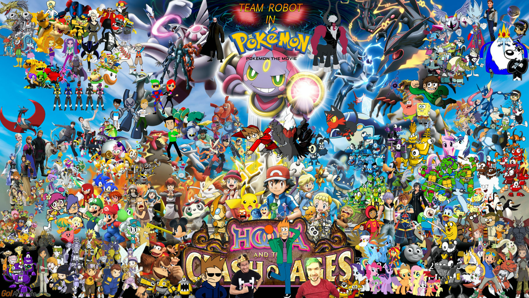 Team Robot In Pokemon Hoops And The Clash Of Ages By Kidzoni1000 On Deviantart