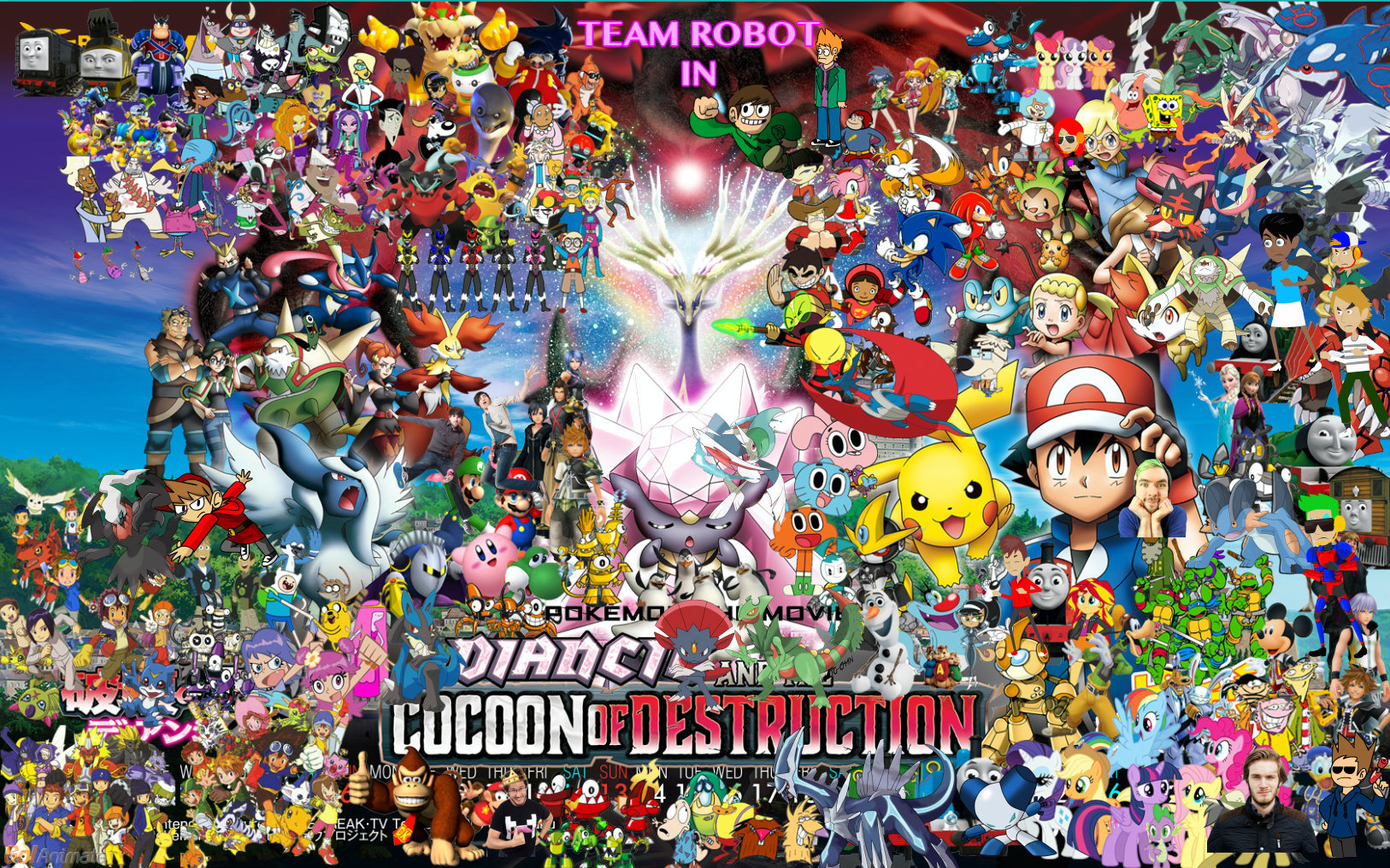 Team Robot In Pokemon Movie 17 By Kidzoni1000 On Deviantart