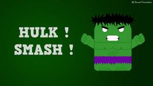 HULK ! SMASH ! by Basolian