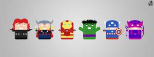 Avengers Assemble by Basolian
