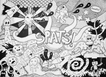 Spats! Doodle by Basolian