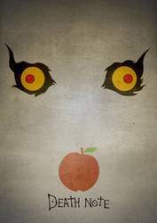 Ryuk Minimal Poster by Basolian
