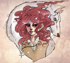 Antimony and Reynardine by Android-Bones