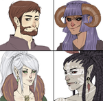 Dungeons and Dragons Portraits