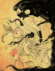 Ninja Hallucinations by Android-Bones
