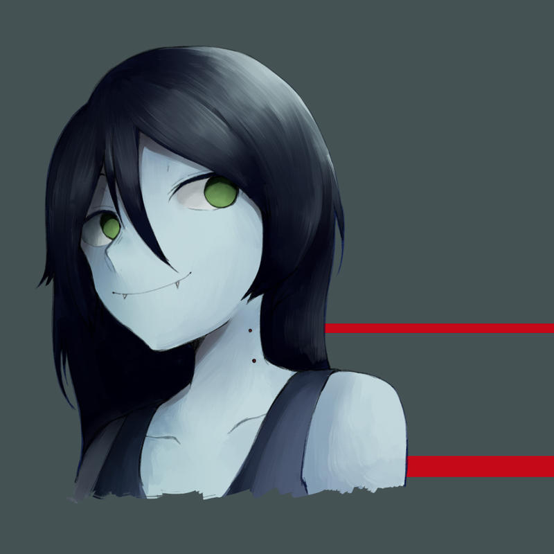 Marceline [Log] by PoisonicPen