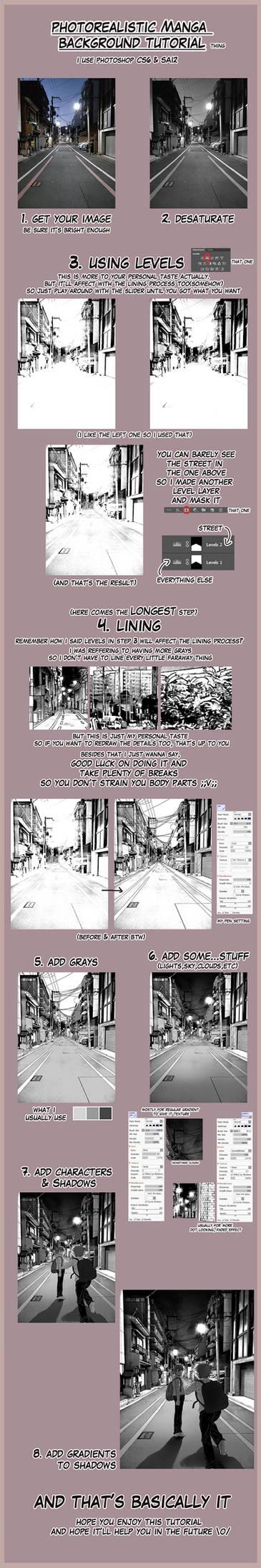 Photorealistic Manga Background Tutorial