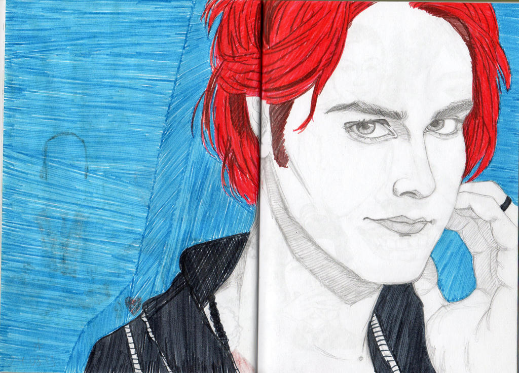 Gerard Way red hair by Peace-inc on DeviantArt