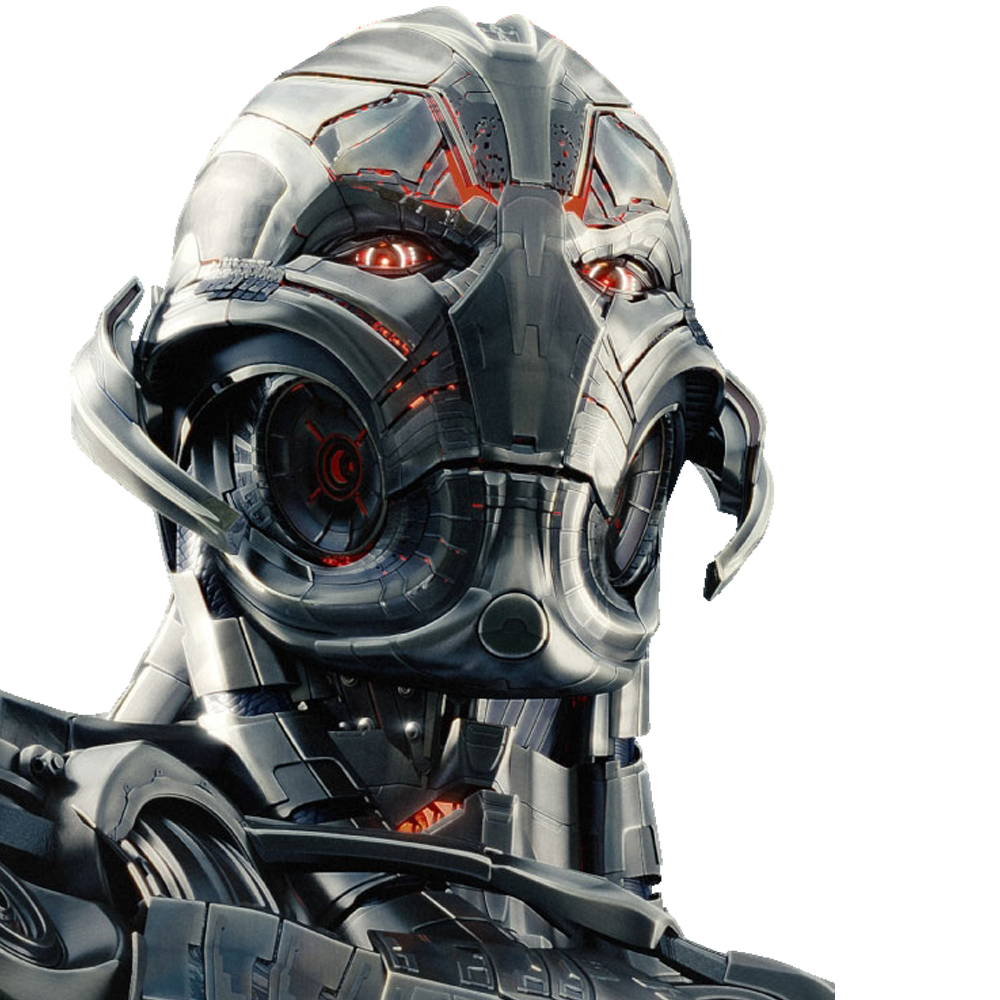 Ultron's voice was a bit too