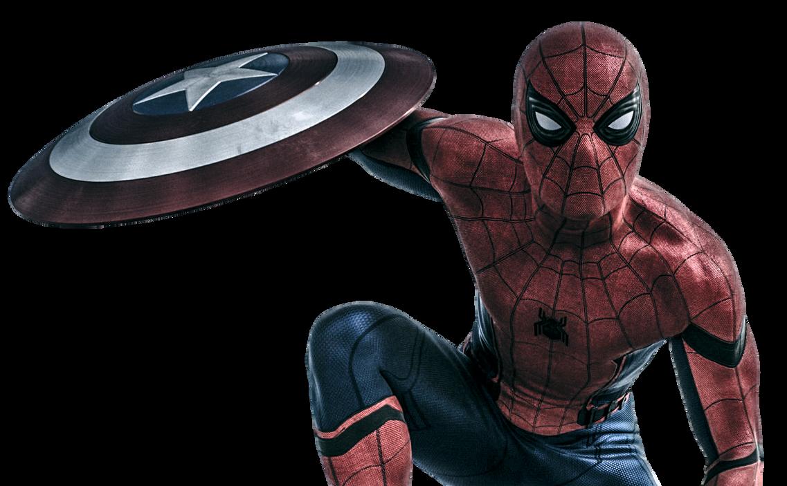JDR#90 - Inscripciones Captain_america__civil_war___spider_man_render_by_eversontomiello-d9uqg9p