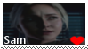 Until Dawn Stamp .:Sam:. by Freakova