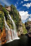 Almecegas falls
