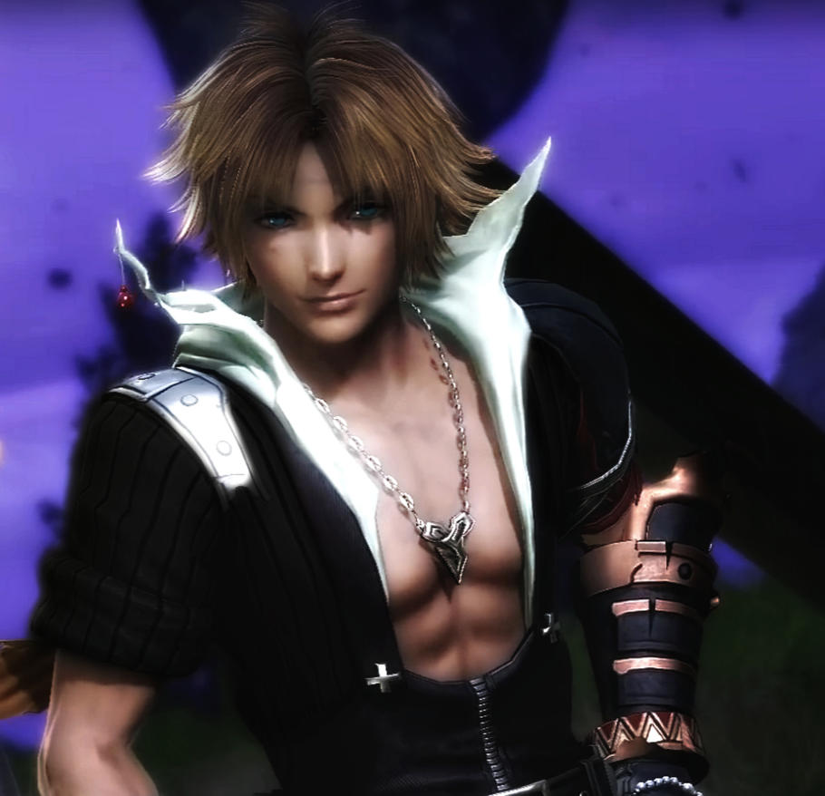 Tidus Dissidia (Editted) by mrleonre4
