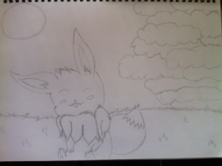 Eevee by CanaxGray