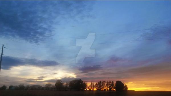 Nearly sunset by Artsysnowflake