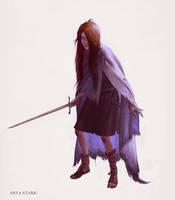 Arya Stark by JMichek
