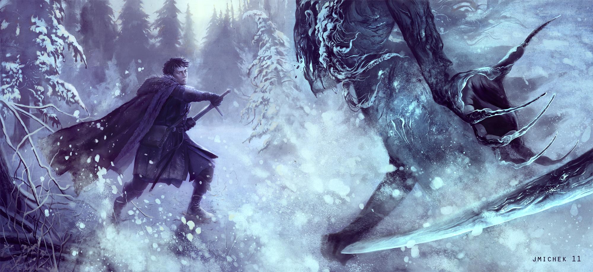 Game Of Thrones Jon Snow By Jmichek On Deviantart