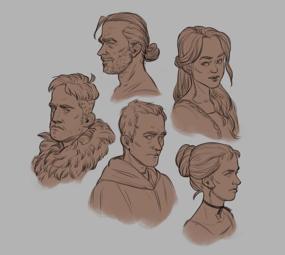 Heads by JMichek
