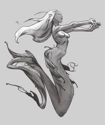 Mermaid by JMichek