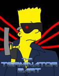 Terminator Bart Poster