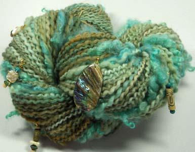 Driftwood and Mermaid Hair by YarnWench