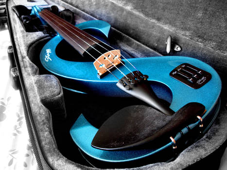 My electric violin