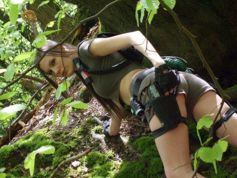 Lara Croft Photoshoot by BunniKez