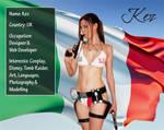 Italian Lara Croft Dev ID
