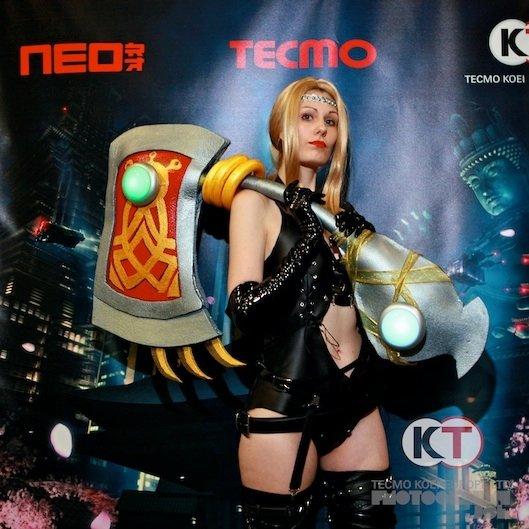 Rachel Ninja Gaiden Cosplay Traffic Club
