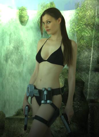 Lara Croft Tomb Raider Bikini
