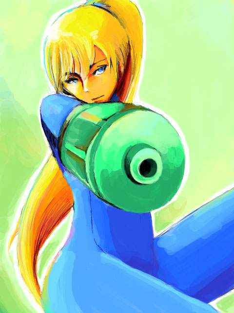 Samus by s-azma