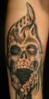 Freehand Skull