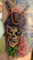 pirate skull by Art-of-Matt-Vazquez