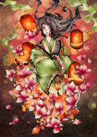 Lotus in the Dark by zgOxO