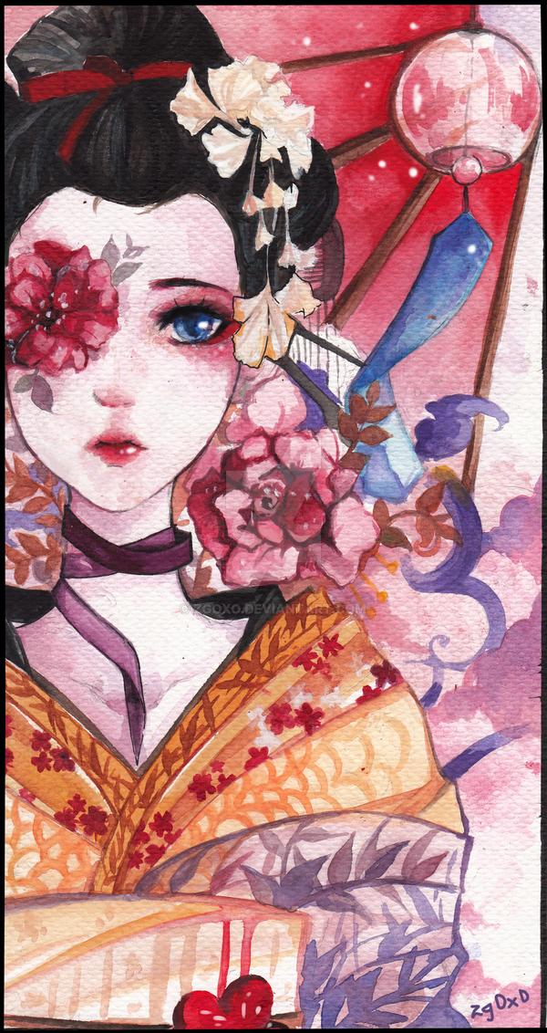 geisha by zgOxO