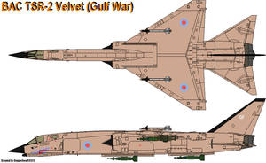 BAC TSR-2 Velvet (Gulf War) by CopperheadYSF23