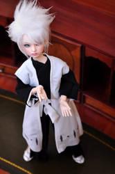 BJD hitsugaya cosplay 3