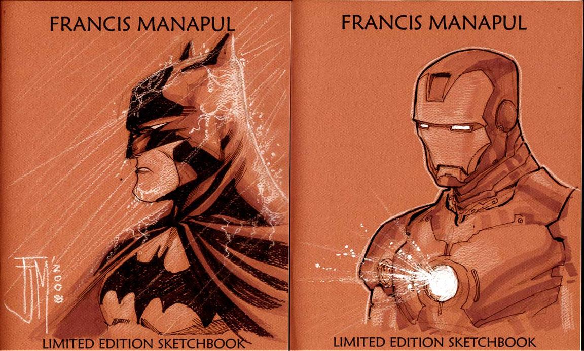 Batman and Iron Man by manapul