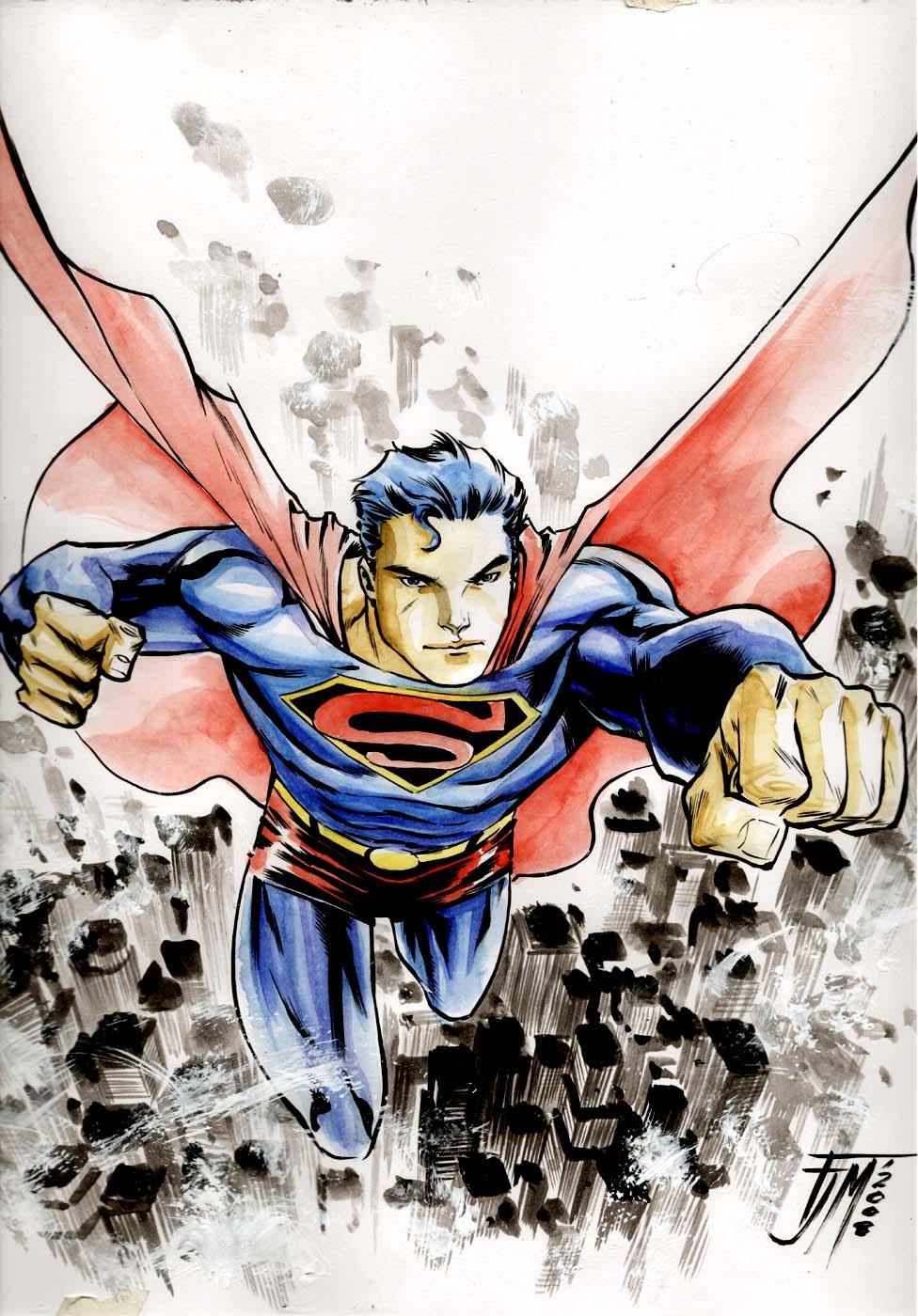 Superman by manapul