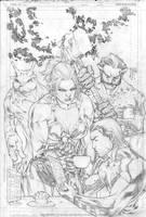 Legion 46 Cover Pencils by manapul