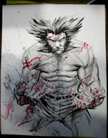 Wolverine Art Finished