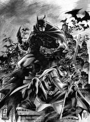 Batman and Robin by manapul