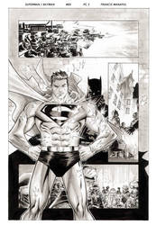 Superman Batman pg 3 by manapul