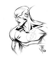 Livesay Inks Flash1 by manapul