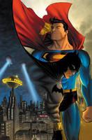 Superman Batman Cover Colors by manapul